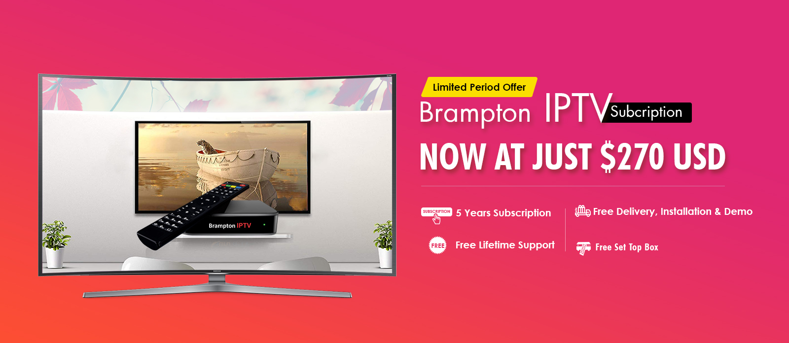 Brampton IPTV Service Provider for Indian Channels in Canada